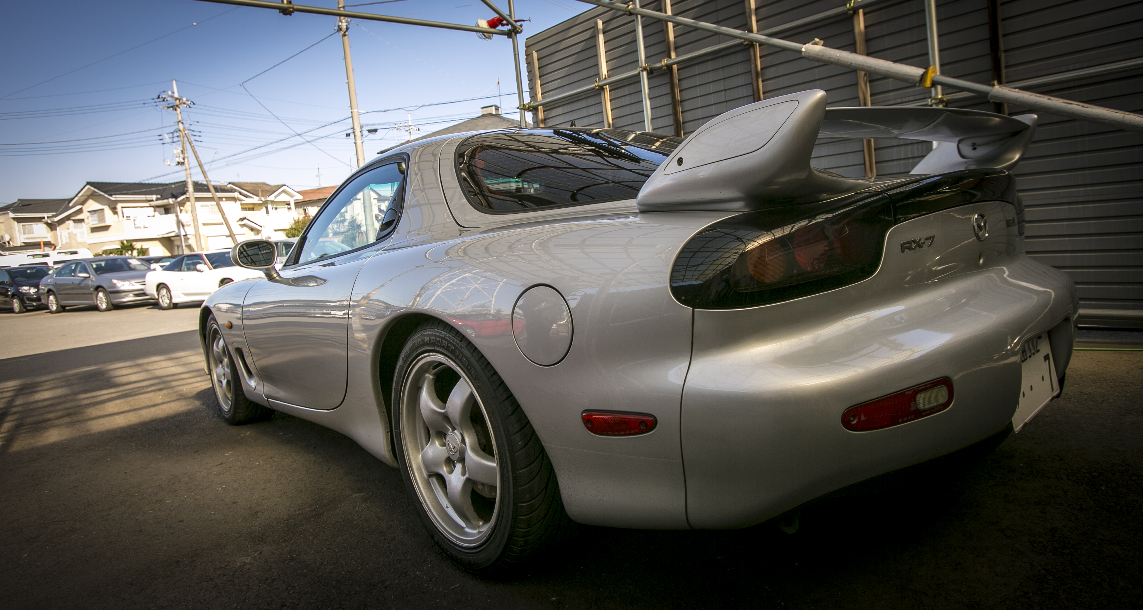 There Were Quite A Few Other Amazing Japanese Cars For Rent Here, Including  Two GTRs: